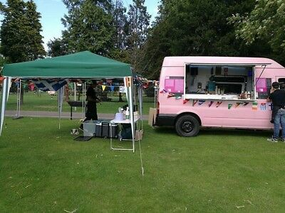 mobile catering business including night pitch and day  5* fsa rating make offer