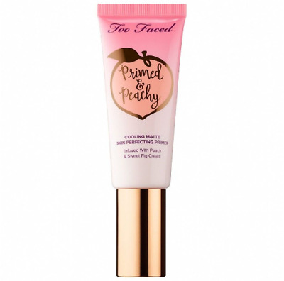 TOO FACED Primed & Peachy Cooling Matte Perfecting Primer Only 2ml Sample