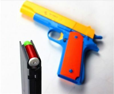 Classic M1911 Kids Nerf Gun Pistol Toy Darts Gun With Soft Bullet Outdoor Play