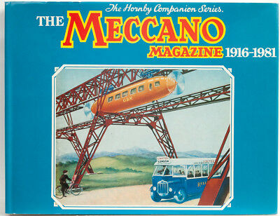 The MECCANO MAGAZINE 1916-1981 Hornby Companion Series Book (Index) Vintage Toy