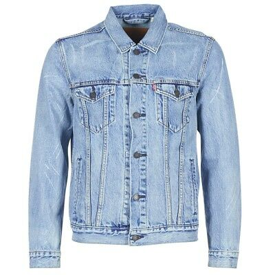 Giacca in jeans uomo Levis  THE TRUCKER JACKET  Blu   6993453