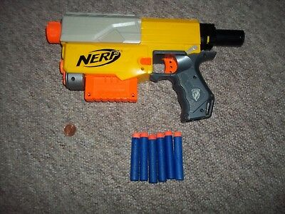 Nerf Gun Recon CS-6, N-Strike with Clip & Bullets,See Others & Combine Shipping