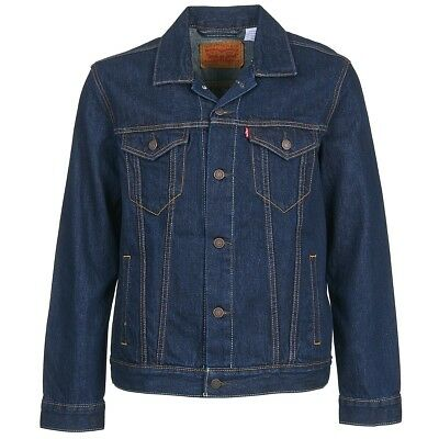 Giacca in jeans uomo Levis  THE TRUCKER JACKET  Blu   1927658