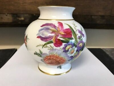 Caverswall of Staffordshire, Summer by M Grant, Handpainted Vase