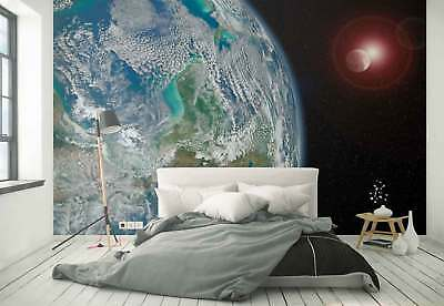 Planet Earth Space Galaxy Photo Wallpaper Wall Mural (FW-1139)