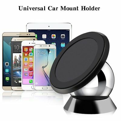 360 Degree Magnetic Car Dashboard  Mount Ball Dock Holder For Cell Phone iPhone