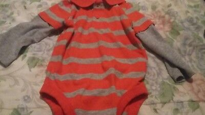 Garanimals Boys Lon Sleeve Body Suit - Size 24 Months