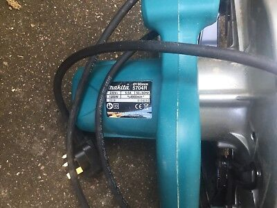 makita 5704R circular saw 0190mm. 240v