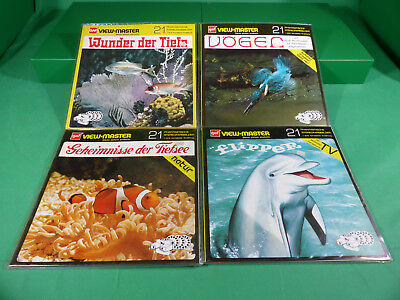 GAF View Master - Lot  Reels  x4  -Ladenfund Großformat NOS - Lot 8