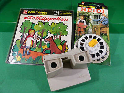 GAF View Master - Lot  Reels  + Viewer -Ladenfund Großformat NOS - Lot 1