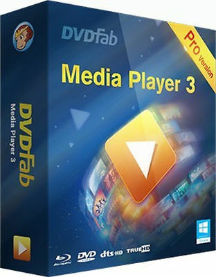 ✔DVDFab Media Player Pro ✔Best Video Blu Ray DVD Player ✔Fast Delivery, READ