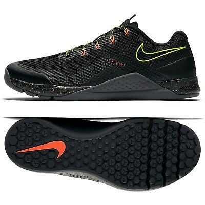 newest 3322d 64084 Nike Metcon Repper DSX 898048-007 Black Volt Crimson Men Training Shoes Sz