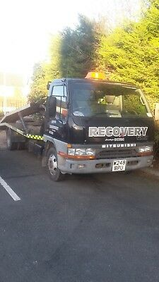 Mitsubishi Canter twin deck 3.9 6300KG car recovery