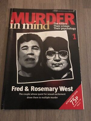 Murder in Mind Issue 1 - Fred & Rosemary West