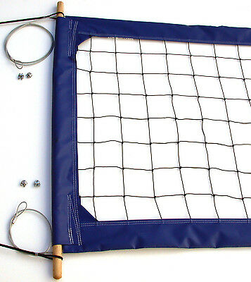 Home Court Professional Volleyball Net, Aircraft Cable Top and Bottom - PRO4B