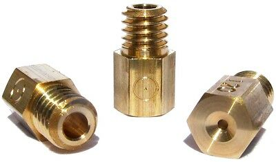 KMT Mikuni main Hex style jet for carbs Made in UK - Sizes(050-300)