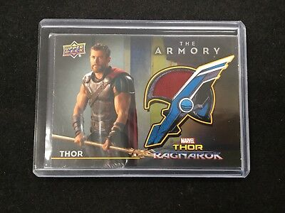THOR 2017 Upper Deck Marvel Thor Ragnarok The Armory Wardrobe Relic #AS-1 JK
