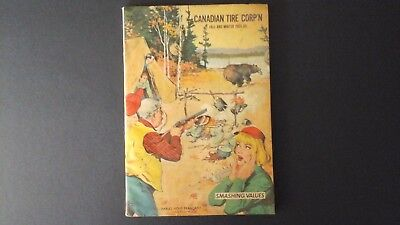 Canadian Tire Vintage 1964 -65 Fall And Winter Catalogue