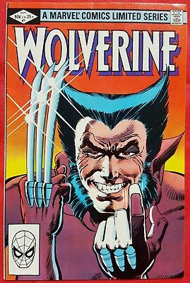 WOLVERINE 1 MARVEL 1982 First solo Wolverine comic Mint-