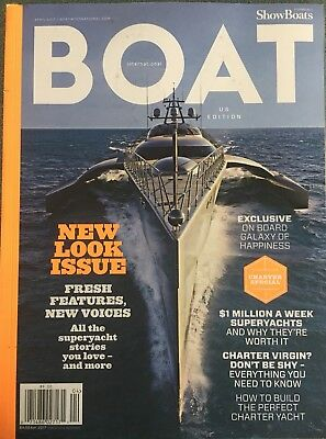 "International Boat April 2017 ""New Look Issue"" Charter Special FREE SHIPPING"