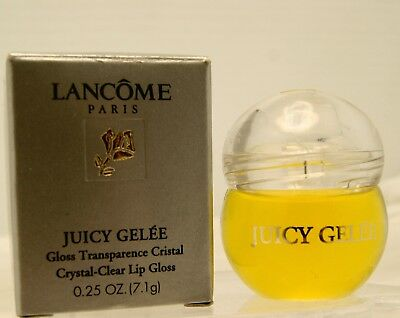 Lancome Juicy Gelee Crystal Clear Lip Gloss *~Lemon Twist ~* * Rare *  Full Size