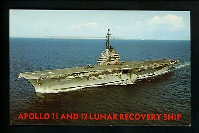 uss randolph cvs 15 postcard us navy ship aircraft carrier 3 95