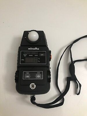 Vintage Minolta Flash Meter Ii Japan Serial 105997 Good Condition