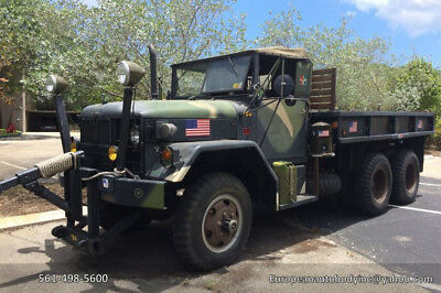 1966 Kaiser M35 Army Truck  1966 Kaiser M35 Army Truck . 6x6 . Restored . with snow  plow