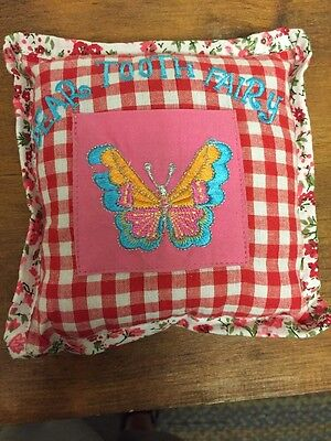 Tooth Fairy pillow Two's Company Butterfly