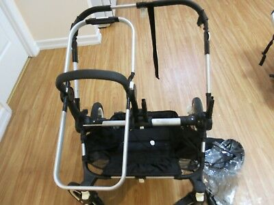 Bugaboo Donkey Silver base with extra accessories