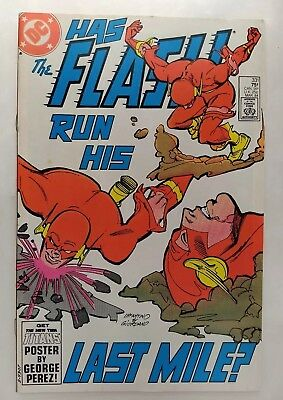 "Flash #331 (FN/VF) Gorilla Grodd! ""Dead heat!"" DC 1984"