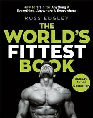 NEW The World's Fittest Book By Ross Edgley Paperback Free Shipping