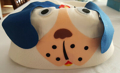 Vintage childs puppy hat Medium excellent condition! Made in Japan 1950's ?