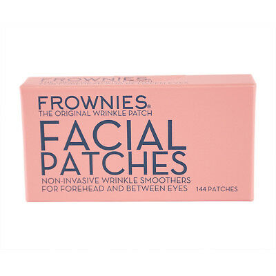 NEW Skincare Frownies Facial Patches (For Forehead & Between Eyes) 144 Patches