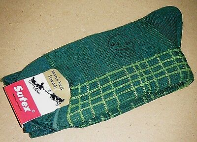 New NOS Vintage c1970/80's Sutex Australian Made Mens Socks