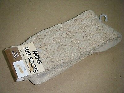 New NOS Vintage c1970/80's Australian Made Mens Suit Socks