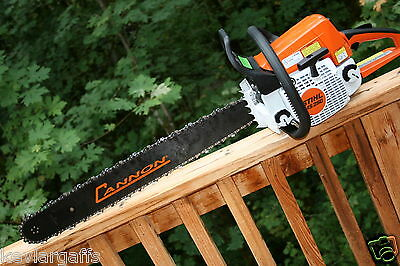 PILTZ Stihl MS250 CHAINSAW HOT SAW Full Chisel 3/8 Chain 24 inch bar Perfect