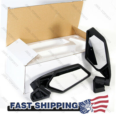 NEW Racing Side Mirrors Left&Right For 2017 2018 Can-Am Maverick X3 & MAX R UTV