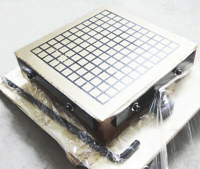 """Super Powerful Square CNC Magnetic Chuck 12""""×12"""" Machining Workholding Permanent"""