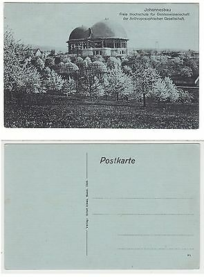 Dornach,Erste Goetheanum i.Bau Anthroposophie anthroposophy Rudolf Steiner 1915