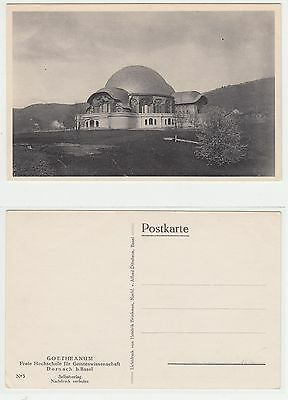 Dornach,Erste Goetheanum Anthroposophie anthroposophy Rudolf Steiner um 1910 (3)