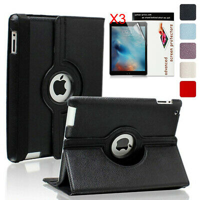 New Ipad 6Th Gen 2018 9.7 Inch 360 Rotating A1893 A1954 Case Stand Cover Smart