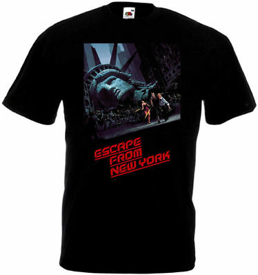 Escape From New York v6 T shirt black movie poster all sizes S-5XL