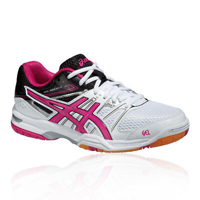 Asics Gel-Rocket 7 Womens Indoor Court Badminton Sports Shoes Trainers Pumps