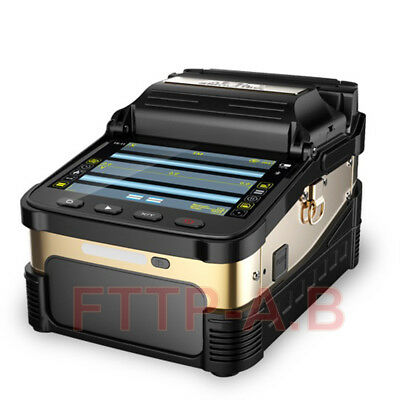SM&MM Automatic Fiber Optic Splicing machine Fusion Splicer Ai-8 Free shipping