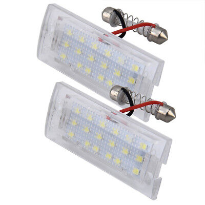 2x Error Free LED Number License Plate Light Lamp For BMW X5 E53 X3 E83 03-10