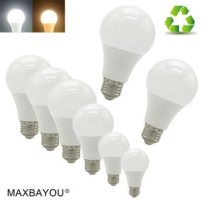 E27 LED Light Globe Bulb 3W5W7W9W12W15W18W20W Edison Screw Cap CoolWarm White