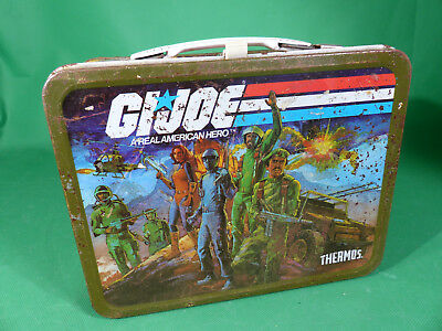 1982 Thermos Hasbro GI Joe   Lunchbox aus Blech / Tinplate