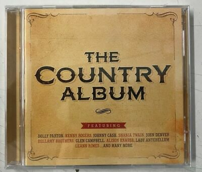 Various -The Country Album (2CD)Dolly Parton, Kenny Rogers, Johnny Cash