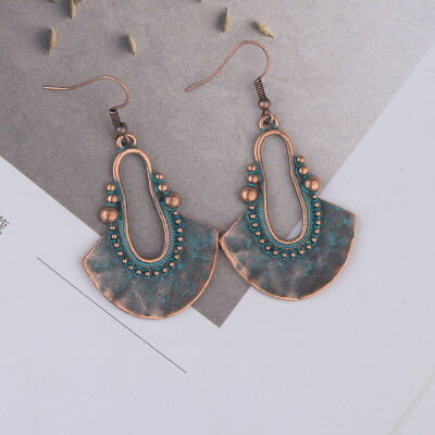 Vintage Ethnic Dangle Alloy For Women Antique Earrings Fashion Tribal Jewellery